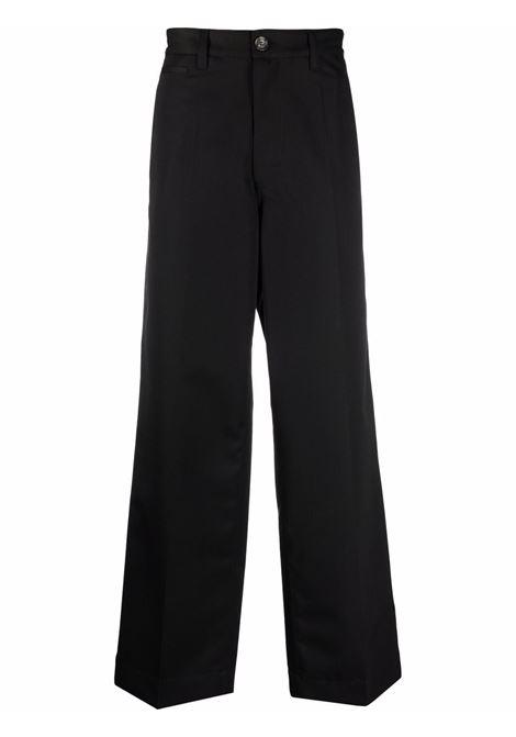 Wide-leg trousers in black - men  MARNI | PUMU0163A0UTW92600N99