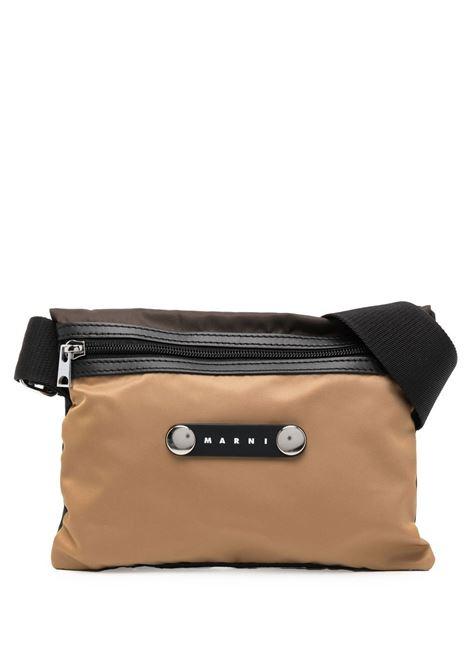 Logo shoulder bag men  MARNI | SBMQ0022U0TN685Z2H97