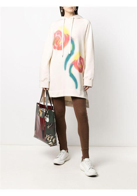Borsa a mano con design a fiori multicolore - donna MARNI | SHMP0052A0PR677Z2O11