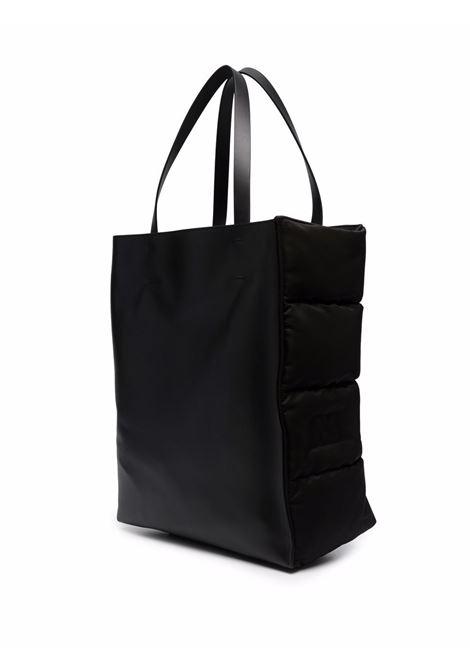 Embossed logo hand bag in black - women MARNI | SHMQ0030Q0TN685Z2O45