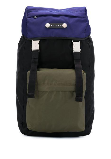 Hackney backpack men  MARNI | ZAMQ0024U0TN685Z2H96