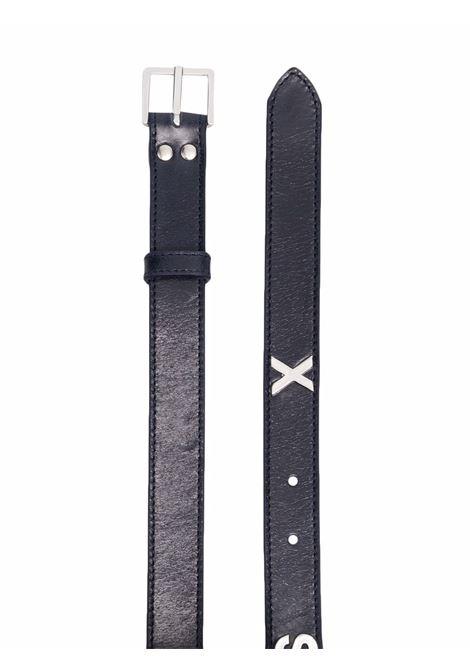 Cintura con fibbia in blu - uomo MARTINE ROSE | M1127LMR069
