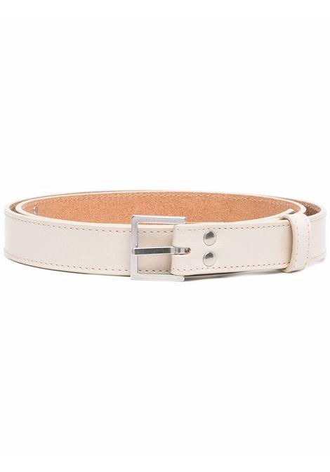 Cintura con fibbia in beige - uomo MARTINE ROSE | M1127LMR084