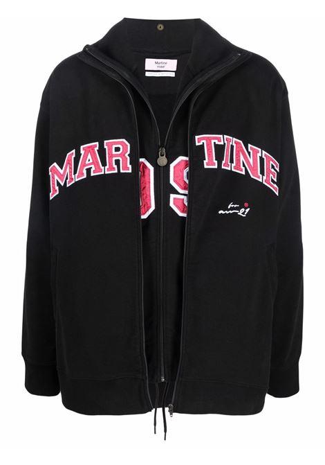 Giacca sportiva con stampa in nero - uomo MARTINE ROSE | M628FOMR009