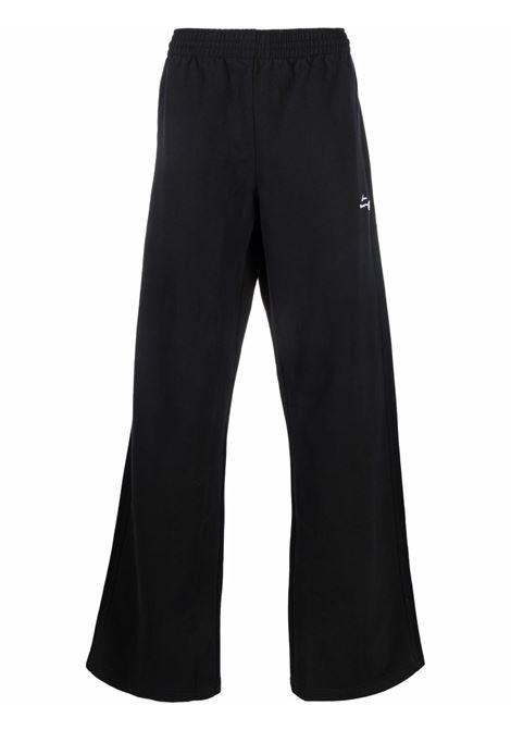 Pantaloni sportivi con stampa in nero - uomo MARTINE ROSE | M631FOMR009