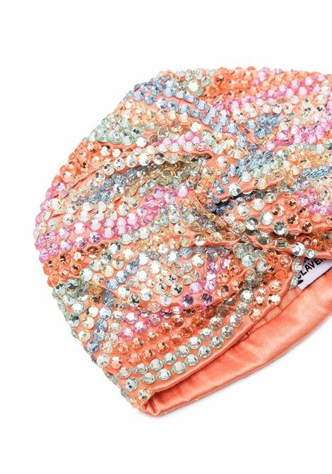 Turbante con cristalli venice multicolore - donna MARYJANE CLAVEROL | 0135021003MLT