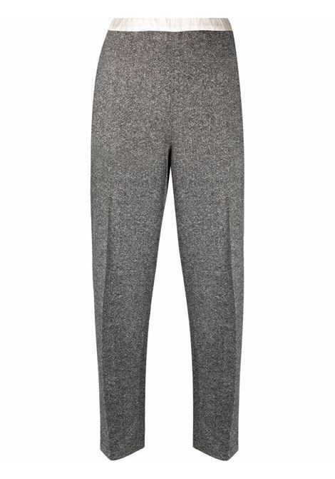 Grey kim trousers with elasticated waist - women  MAXMARA SPORTMAX | 21360913600001
