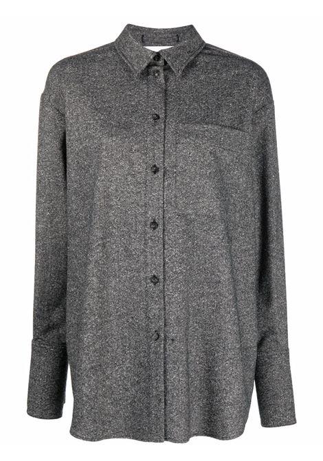 Grey perim buttom-up shirt - women  MAXMARA SPORTMAX | 21960213600001