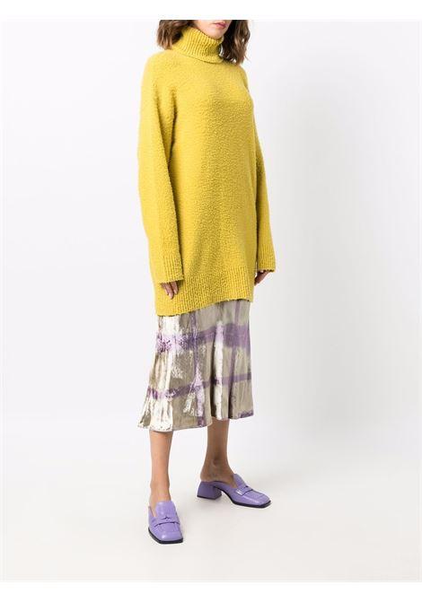Unghia oversized jumper in yellow - women  MAXMARA SPORTMAX | 23260319600002