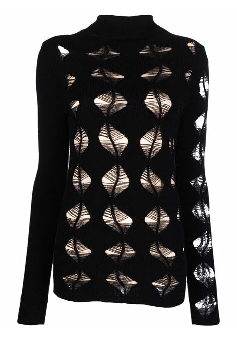 Double-layer jumper in black - women  MAXMARA SPORTMAX | 23860119600004