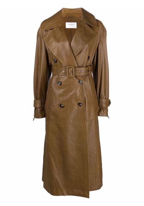 Brown opaco trench coat - women  MAXMARA SPORTMAX | 24760119600002