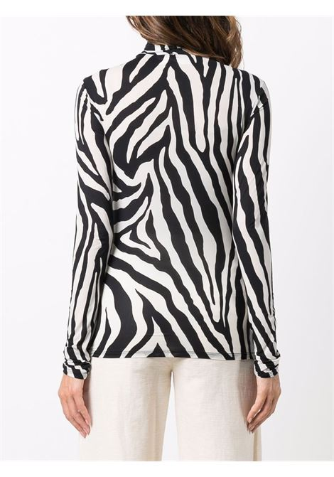 Fly top with animal print - women MAXMARA SPORTMAX | 29460419600001