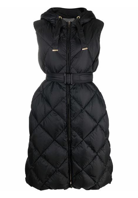 Black Tregil quilted down vest - women  MAXMARA THE CUBE | 92960116600002