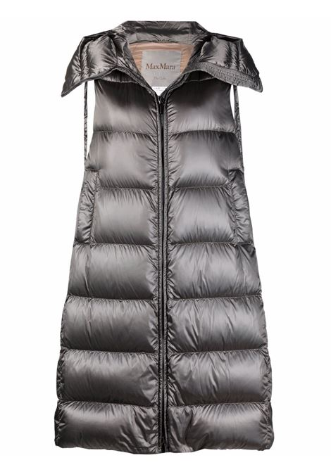 Space quilted coat in silver - women  MAXMARA THE CUBE | 92960816600001
