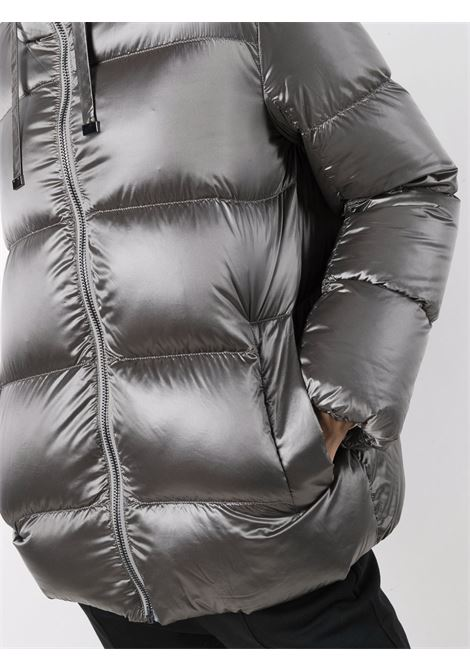 Spacey padded jacket in silver - women  MAXMARA THE CUBE | 94860616600001