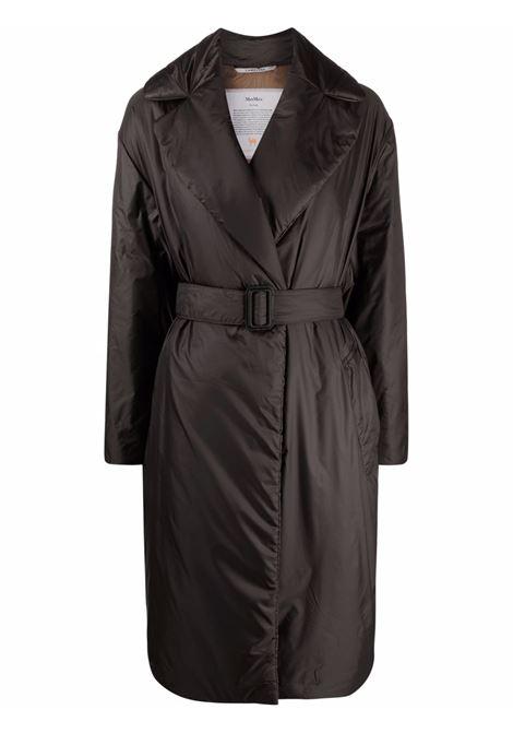Black greenco coat - women  MAXMARA THE CUBE | 94960514600049