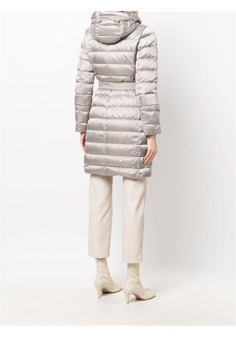 Silver-tone novef quilted down vest - women  MAXMARA THE CUBE | 94961116600081