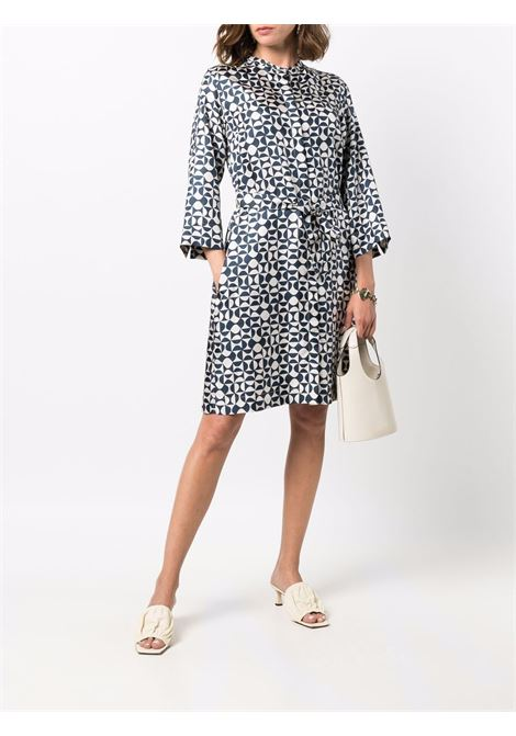Geometric-print belted dress - women  MAXMARA TIMELESS | 92260518600001