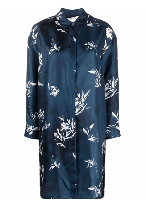 Chemisier con stampa all-over in blu - donna MAXMARA TIMELESS | 92261218600004