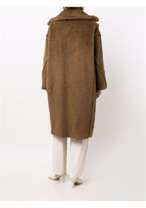 Teddy bear coat in brown -women  MAXMARA | 10162916600015