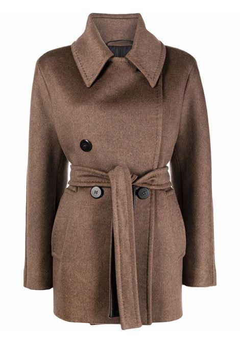 Pappino coat in brown -women  MAXMARA | 10860115600022