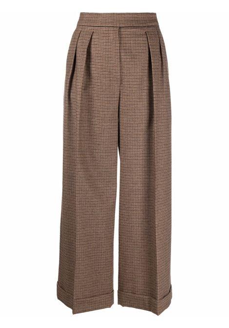Vanda trousers in brown -women  MAXMARA | 11362016600005