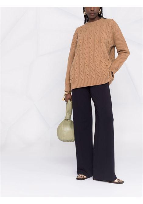 Cannes jumper in camel brown - women  MAXMARA | 13660513600002