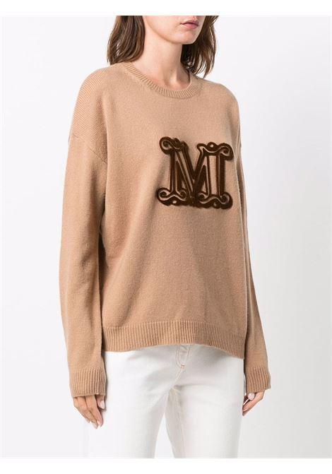 Giostra jumper in camel brown - women  MAXMARA | 13660813600002