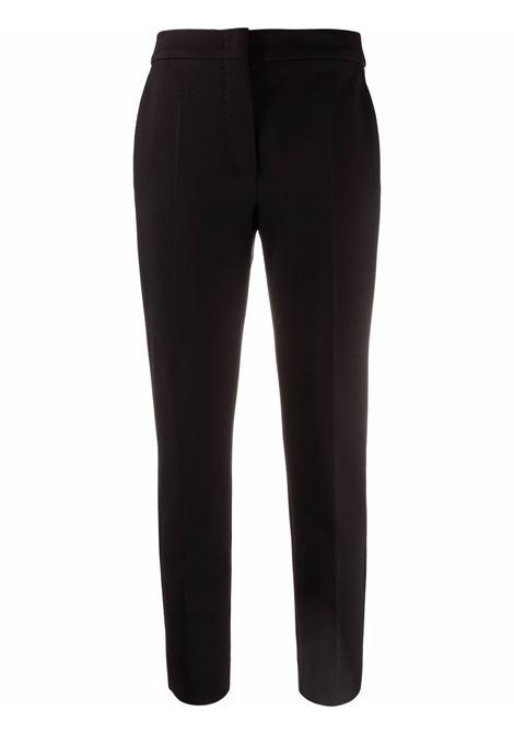 Pegno trousers in black - women  MAXMARA | Trousers | 17860119600008