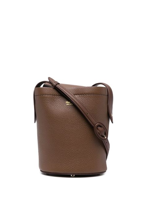 My dear bucket shoulder bag in brown - women  MAXMARA | 45161617600007