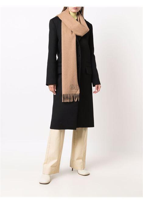 Wcklara scarf in camel brown - women  MAXMARA | 45463217600001