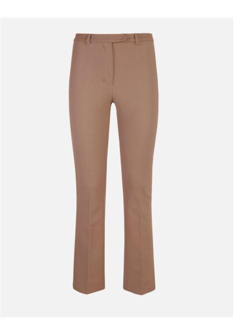 Fresco ivory white trousers - women  MAXMARA | 91361313600002