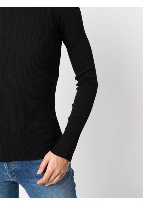 Maglione a coste bora in nero -donna 'S MAXMARA   93660813600005