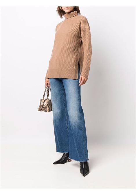 Maglione a coste voghera in beige -donna 'S MAXMARA   93661413600005