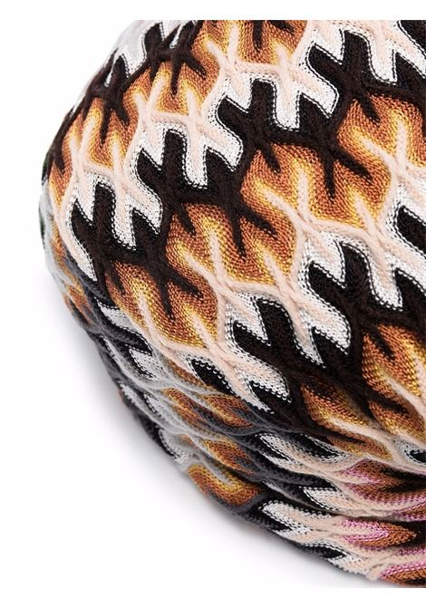 Multicolored knot-detail patterned tourbant - women  MISSONI | MDS00385BR00GHSM72E
