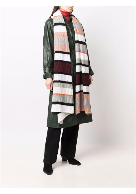 Multicolored striped wool scarf - women  MISSONI | MDS00568BK010MSM78I