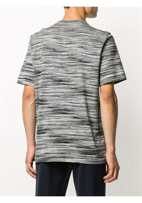 T-shirt a righe in boanco e nero - uomo MISSONI | MUL00037BJ0001F901B