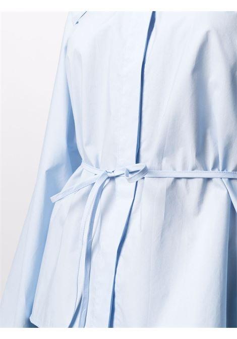 Blue tied-waist shirt - women  MM6 MAISON MARGIELA | S52DL0152S47294479