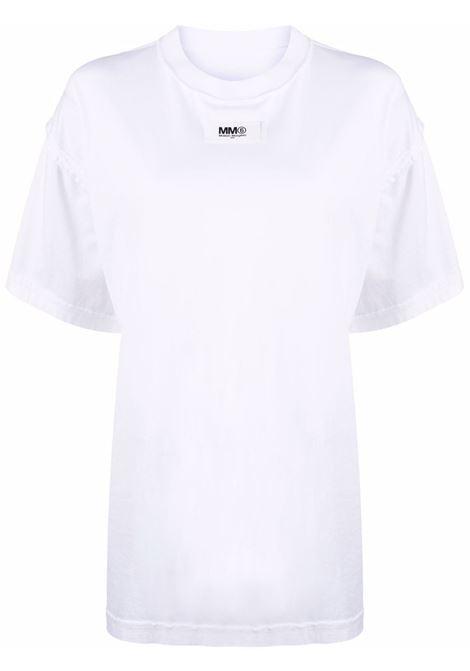 Round neck t-shirt white- women MM6 MAISON MARGIELA | S62GD0089S23955100
