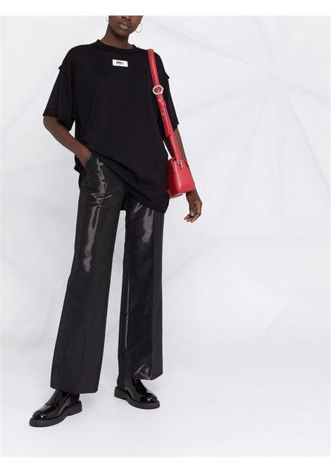 Oversize t-shirt black MM6 MAISON MARGIELA | S62GD0089S23955900