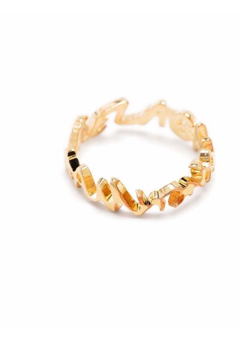Ring with logo gold- women MM6 MAISON MARGIELA | SM7UQ0004SV0045950