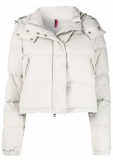Dark grey Avoine cropped padded jacket - women  MONCLER   1A00033595A2910