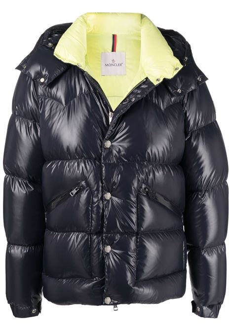 Blue Coutard padded jacket - men  MONCLER | 1A0004168950742