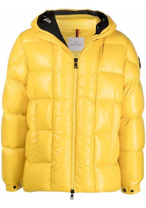 Dougnac padded jacket in yellow - men  MONCLER | 1A0005568950141