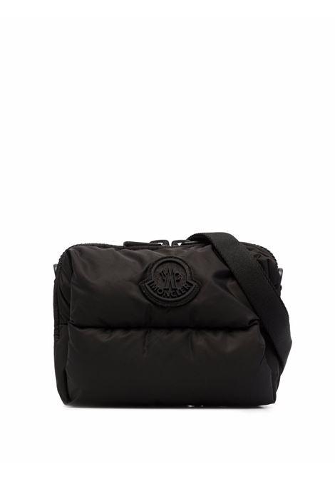 Legere padded belt bag in black - men  MONCLER | 5L5100002SZS999