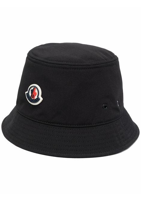 Cappello bucket con logo in nero - donna MONCLER | 3B0001757843999