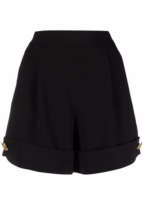 Shorts a vita alta in nero -donna MOSCHINO   A03095525555