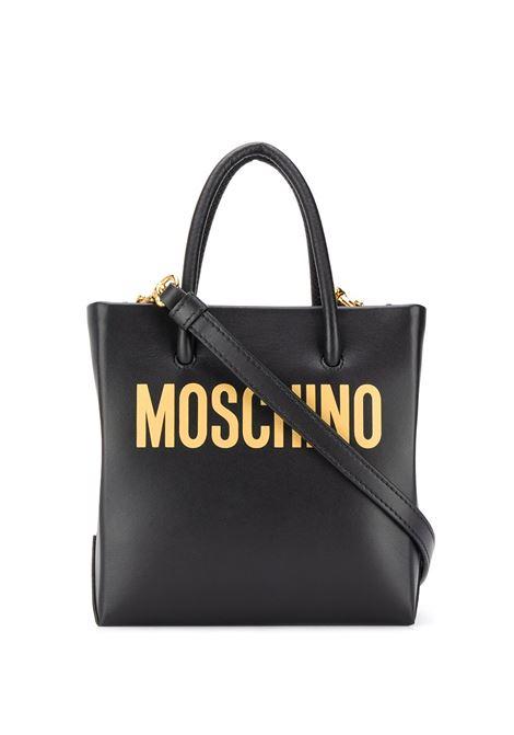 Borsa tote con logo - donna MOSCHINO | A741680012555