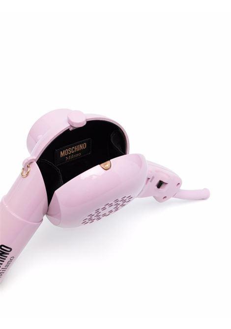 Blow dryer mini bag pink - women MOSCHINO | A75458304271