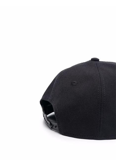 Cappello da baseball con logo in nero - uomo MOSCHINO | A92058266555